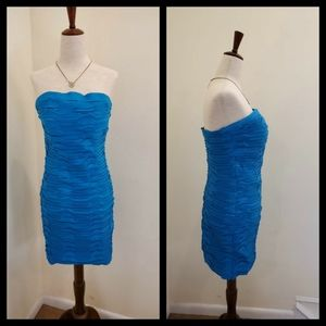 Daisy Size Size L Ruched Cocktail Dress.